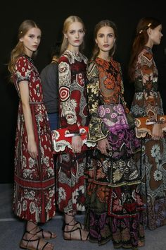 Backstage at Valentino Spring / Summer 2015