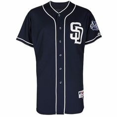 6cbc60e126a San Diego Padres MLB Majestic Men s Navy Authentic On-Field Classic Jersey