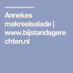Annekes makreelsalade | www.bijstandsgerechten.nl