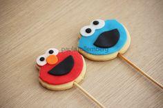 Elmo e Cookie Monster