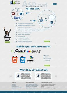 ASP.net Story based by Elevate Solutions, via Behance