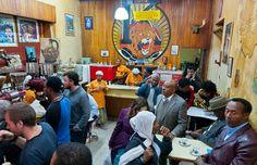 Adis-Abeba-Etiópia-África-café-Tomoca-Coffee-House