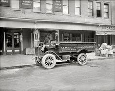"""Washington, D.C., circa 1920. """"A.E. Beitzell & Co. -- Autocar truck."""""""