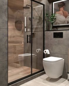 We offer bespoke bathroom design & installation. Bathroom Design Luxury, Modern Bathroom Decor, Modern Bathroom Design, Home Room Design, Dream Home Design, Home Interior Design, Old Bathrooms, Small Bathroom, Bathroom Design Inspiration