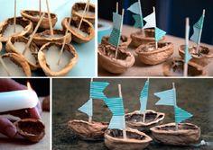 Кораблики своими руками 5 Matchbox Crafts, Toddler Crafts, Color Splash, Minis, Lily, Place Card Holders, Crafty, Children, Fluid Mechanics