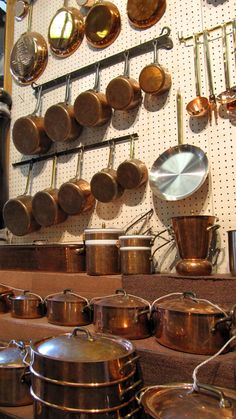 E. Dehillerin, Paris - Where the serious cooks go for copper pots and pans