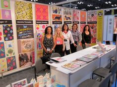 Surtex 2013 - Art Licensing LA's booth