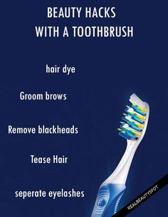 Amazing Beauty Hacks You Can Do With a Toothbrush