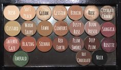 Anastasia Beverly Hills Single Eyeshadows Swatches #makeup #beauty