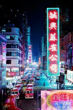 Tung Choi Street Mong Kok, Hong Kong Photo by Jörg Dickmann Japanese Aesthetic, Purple Aesthetic, Aesthetic Light, Aesthetic Japan, Retro Aesthetic, Vaporwave, Neon Licht, Neon Noir, Japon Illustration