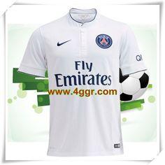 acheter 2014-2015 Fly Emirates Paris Saint Germain(psg) Exterieur maillot de foot homme chine