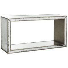 Safavieh Couture High Line Collection Rivera Eglomise Console Table (AMH4571A), White