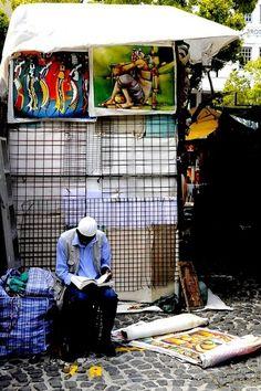 art vendor in South Africa