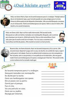 Good Grammar, Spanish Grammar, Spanish 1, Spanish Teacher, Spanish Classroom, Spanish Language, Spanish Worksheets, Spanish Teaching Resources, Spanish Activities
