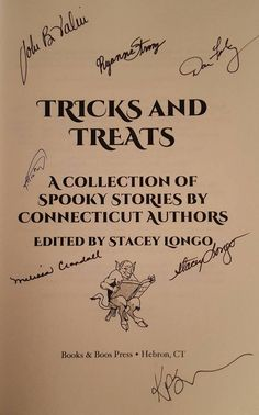 Check out this recap of my very first book tour – and learn how you can win a signed copy of TRICKS AND TREATS!