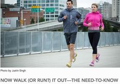 #Running and #Walking - Both are awesome!  ....  #exercise #walk #run #move #active #steps #calburn #fit @enquos