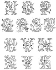 27 ideas embroidery patterns free printables link You are in the right place about vintage embroidery Here we offer you the most beautiful pictures about the embroidery stars you are looking for. Embroidery Letters, Embroidery Patterns Free, Vintage Embroidery, Embroidery Designs, Embroidery Sampler, Embroidery Fabric, Arte Quilling, Quilling Letters, Quilling Designs