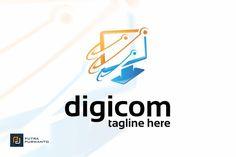 Digicom - Logo Template by putra_purwanto