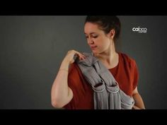 (47) How to use Caboo +organic and +cotton blend carriers - Instructions - YouTube