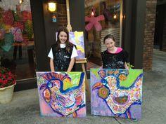 Children's Art Classes at @Vinoandvangogh #GreenvilleSC #KidsArt #SouthCarolina