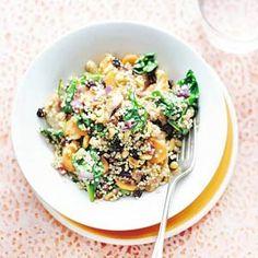 Kijk wat een lekker recept op de test-site van Allerhande! Pilav van quinoa