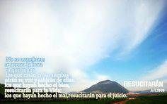 EVANGELIO DE JUAN: RESUCITARÁN  JU 5,28-29