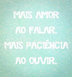 Mais amor ao...