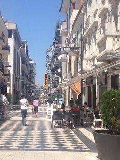 Downtown Pescara Italy 2014