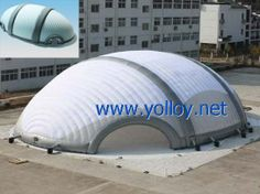 Inflatable shelter for sports events #DomeTent
