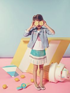 Kids fashion - Billieblush - Spring Summer 2015 Collection
