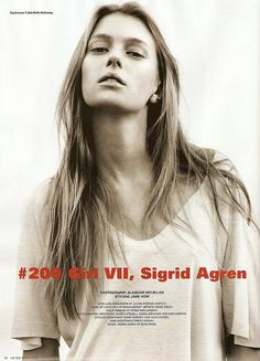 Sigrid Agren / i-D Magazine@Fashion by Kenzo*, via Flickr