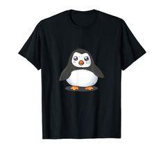 Amazon.com: Cute Baby Penguin Tshirt for Penguin Lover: Clothing   #cuteanimals  #cartoonart #kidsfashion #toddlerfashion #tshirt #penguins Cute Baby Penguin, Penguin S, Baby Penguins, Lover Clothing, Funny Graphic Tees, Toddler Fashion, Cartoon Art, Funny Tshirts, Amazon