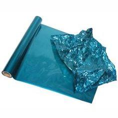 NEW Color- Peacock Blue Metallic Foil