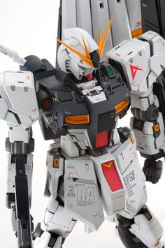 MG νガンダムアップします - mat modeling service >> Gundam Art, Gundam Model, Mobile Suit, Scale Models, Robot, Animation, Game, Scale Model, Gaming
