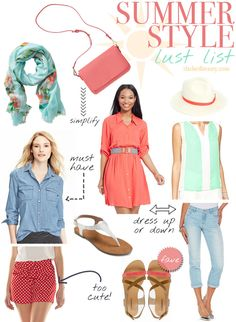 Summer Style Lust List | Slashed Beauty