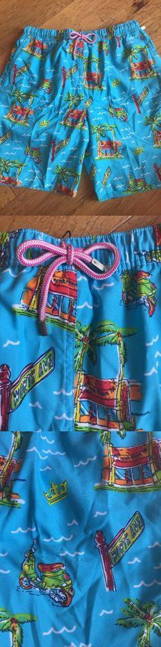 Swimwear 15690: Peter Millar Men S Swim Trunks New Size Xl $85 Worth Ave Summer -> BUY IT NOW ONLY: $34.95 on eBay!