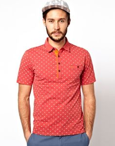 Farah Vintage Polo with Print