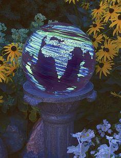 "Illuminarie 10"" Planet Earth Gazing Globe"