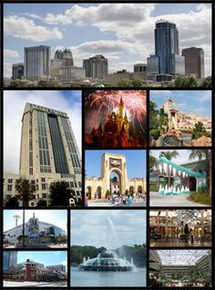 Orlando, Florida. By this time tomorrow I will be here with my amazing boyfriend. No stress, just love. :)