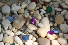 Little Page Turners: Pirates: Treasure Chest Sensory Bin & Color Matching Game  SOLO IDEA