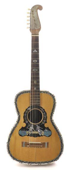 Early 1900s Italian Wedding Guitar (Chicago Music Exchange)