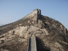 Great Wall near Beijing, China #travel #chinese