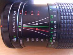 Vintage Canon 200mm auto Zoom Lens