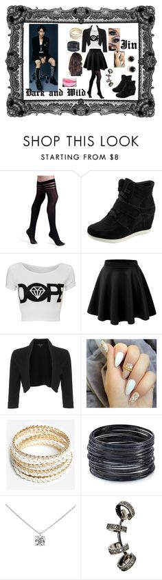 """Bts Jin dark and wild outfit"" by princesscupid98 on Polyvore featuring Alice + Olivia, Phase Eight, ZooShoo, ABS by Allen Schwartz, Tiffany & Co., Repossi and Kate Spade"