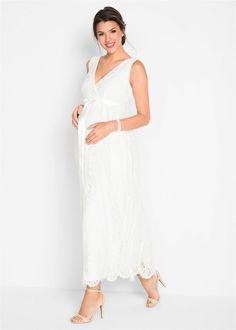 Menyasszonyi/ünnepi kismama ruha • gyapjúfehér • bonprix áruház Formal Dresses, Wedding Dresses, Outfit, Marie, Cold Shoulder Dress, White Dress, Bonprix, Dress Ideas, Fashion