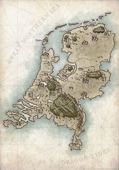 Pin by Hunter Ta on Fantasy map in 2019 | Map, Fantasy map
