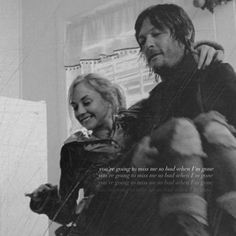 Bethyl and Normily (Beth and Daryl) Norman Reedus and Emily Kinney Walking Dead Series, Fear The Walking Dead, Best Tv Shows, Best Shows Ever, Daryl Beth, Beth Greene, Bae, Walking Dead Zombies, Emily Kinney