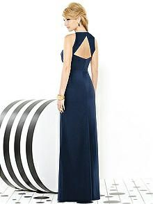 After Six Bridesmaids Style 6716 http://www.dessy.com/dresses/bridesmaid/6716/