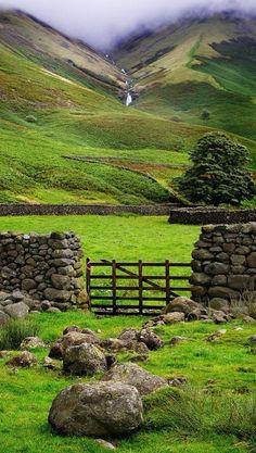 Southern English countryside