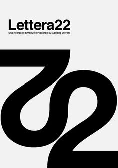 Lettera 22, DVD cover submitted by Daniele De Batté (Artiva Design) and designed by Artiva Design (2010)  –Type OnlyUnit Editions